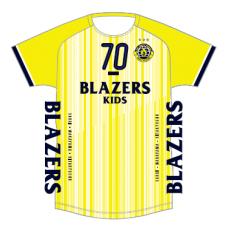18-19シーズン ブレイザーズキッズ ユニフォームデザインTシャツ